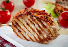 Grilled pork meat Royalty Free Stock Image