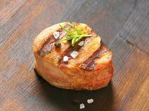 Grilled pork medallion Royalty Free Stock Images