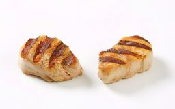 Grilled pork medallions Royalty Free Stock Photos