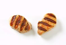 Grilled pork medallions Royalty Free Stock Photo