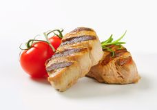 Grilled pork medallions Royalty Free Stock Photography
