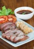 Grilled pork neck Royalty Free Stock Images