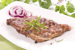 Grilled pork neck Stock Image