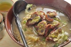 Grilled Pork Noodle Royalty Free Stock Images