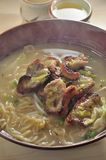 Grilled Pork Noodle Stock Image