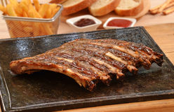 Grilled pork rib Royalty Free Stock Image
