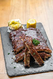 Grilled Pork Ribs Royalty Free Stock Photos