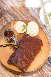 Grilled Pork Ribs Stock Images
