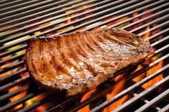 Grilled pork ribs/steak Royalty Free Stock Image