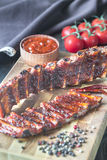 Grilled pork ribs Stock Photography