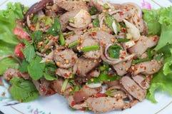 Grilled pork's neck Stock Photo