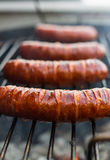 Grilled pork sausages Stock Photography