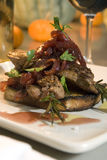 Grilled Pork Skewers Royalty Free Stock Images
