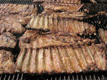 Grilled pork spare ribs Royalty Free Stock Photo
