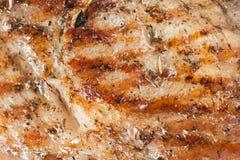 Grilled Pork Steak Royalty Free Stock Image