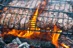 Grilled pork steak Royalty Free Stock Photography