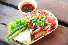 Thai Pork Spicy  Royalty Free Stock Image