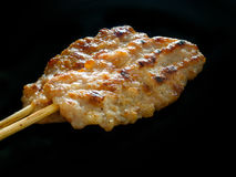 Grilled pork steaks Royalty Free Stock Images