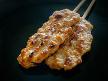 Grilled pork steaks Royalty Free Stock Photography
