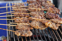 Grilled pork Stock Photography