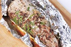 Grilled pork tenderloin Royalty Free Stock Images