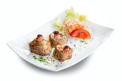 Grilled pork tenderloin Stock Image