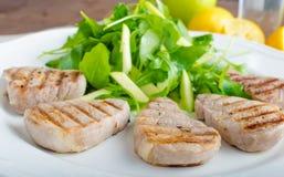 Grilled pork tenderloin Stock Photos