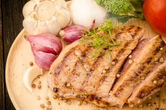 Grilled pork Royalty Free Stock Photography
