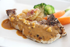 Grilled Porkchop Royalty Free Stock Image