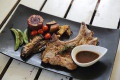 Grilled Porkchop Stock Photos