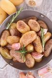 Grilled potatoes Stock Images