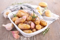 Grilled potatoes Royalty Free Stock Images
