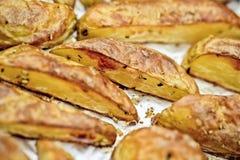 Grilled Potatos Royalty Free Stock Images