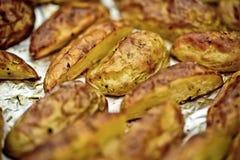 Grilled Potatos Stock Images