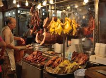 Grilled poultry market Stock Photo