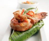 Grilled prawn Stock Photo