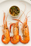 Grilled prawn Royalty Free Stock Photography