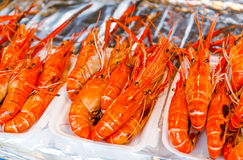 Grilled prawn Royalty Free Stock Image