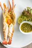Grilled Prawn Stock Images