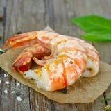 Grilled prawns Royalty Free Stock Photo