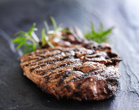 Grilled prime rib beef steak Stock Photos