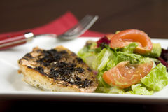 Grilled Red Snapper. Lunch menu Royalty Free Stock Photos