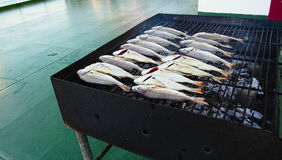 Grilled red snapper Royalty Free Stock Photography
