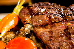 Grilled ribeye steak Royalty Free Stock Images