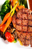 Grilled ribeye steak Royalty Free Stock Photography