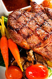 Grilled ribeye steak Stock Photography