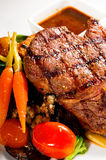 Grilled ribeye steak Royalty Free Stock Photo