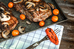 Grilled Ribeye Steak Royalty Free Stock Photography