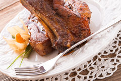 Grilled ribs Royalty Free Stock Image