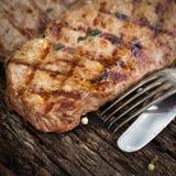 Grilled rumpsteak Stock Image
